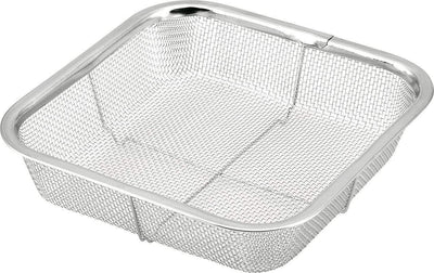 Minex Stainless Steel Square Mesh Colander 18cm Colanders
