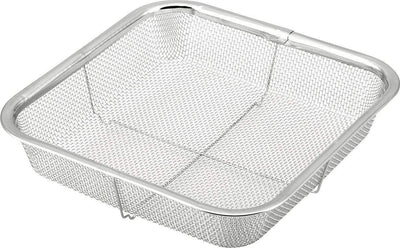 Minex Stainless Steel Square Mesh Colander 20cm Colanders