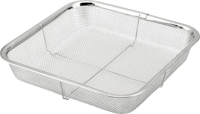 Minex Stainless Steel Square Mesh Colander 22cm Colanders