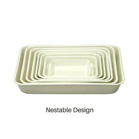 Noda Horo Enamel Nestable Meal Prep BaKing Tray Food Pans