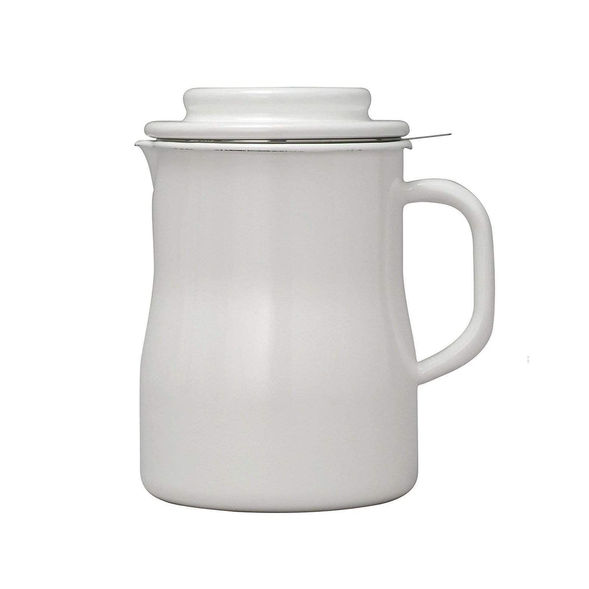 Noda Horo Enamel Oil Pot 2.3 L Oil Storage Containers