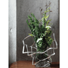 Nousaku KAGO Hand-Crafted Cast Tinware Flexible Folding Basket – Square Table Decorations