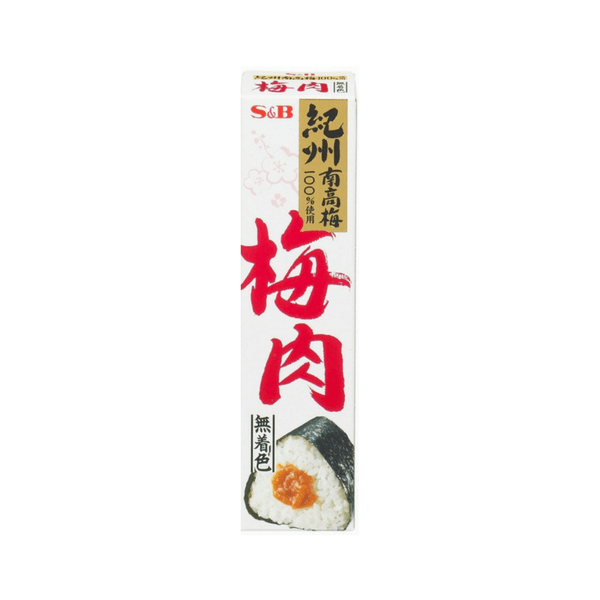 S&B Bainiku Umeboshi Paste in Tube 40g Condiments