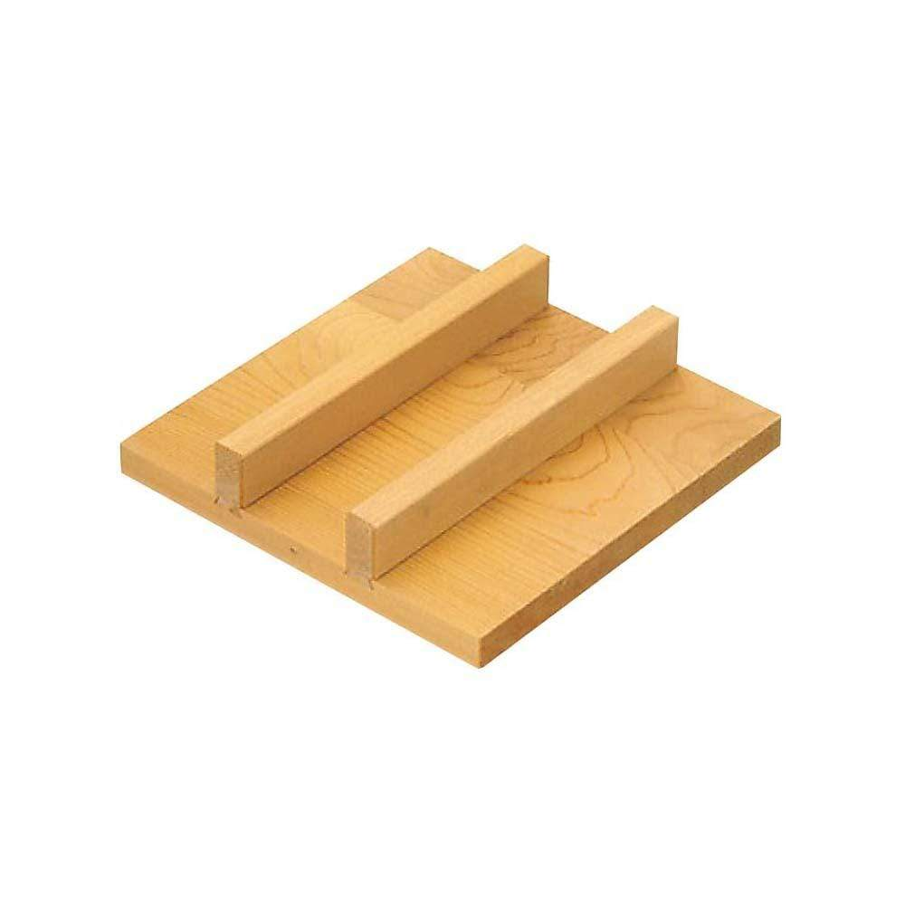 Sawara Cypress Wooden Lid for Square Omelette Pan Lids & Covers