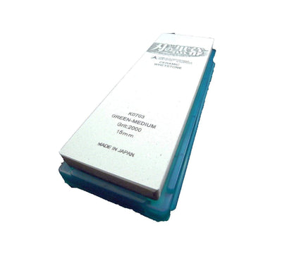 Shapton KUROMAKU Ceramic Whetstone (Green) - Grit 2000 Sharpening Stones