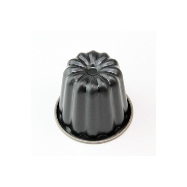 Shimotori Non-Stick Mould for Cannele de Bordeaux 5.5cm Pastry Moulds