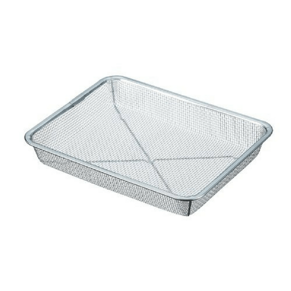 Shin-Etsu Stainless Steel Rectangle Deep Mesh Colander (6.5 Mesh) Colanders