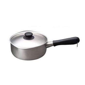 Sori Yanagi 3-Ply Stainless Steel Induction Saucepan 18cm (Matt Finish) Saucepans