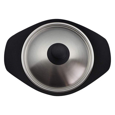 Sori Yanagi Cast Iron Induction Deep Casserole 22cm with Stainless Steel Lid Casseroles