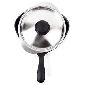 Sori Yanagi Cast Iron Induction Mini Frying Pan with Lid (Matt Finish) 16cm Frying Pans