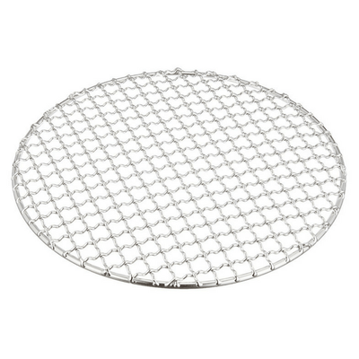 Stainless Steel Super Strong Barbecue Grill Intercrimp Woven Wire Mesh (Round) Barbecue Grill Mesh
