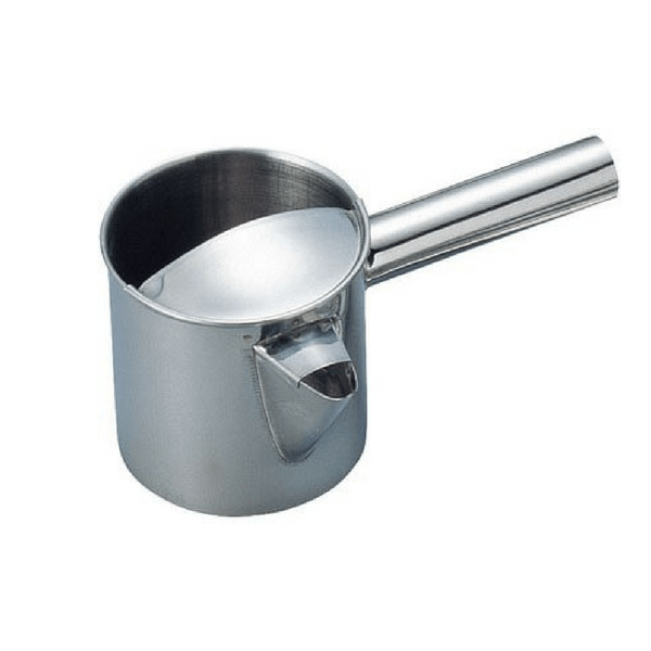 Stainless Steel Takoyaki Batter Pouring Funnel Pitcher Batter Dispensers