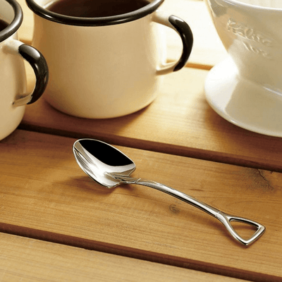 Takeda Garden Shovel Shaped Stainless Steel Spoon (Mirror Finish) Spoon
