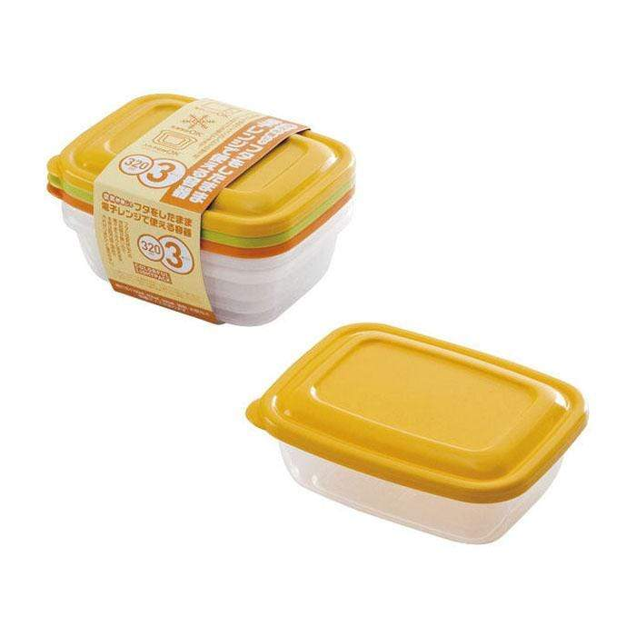 Takeya Colourful Light Pack Container (4 Sizes, 3 Colours) Food Containers