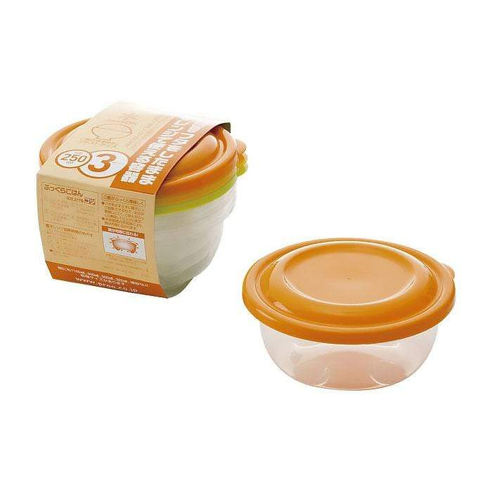 Takeya Colourful Light Pack Round Container (3 Colours) Food Containers