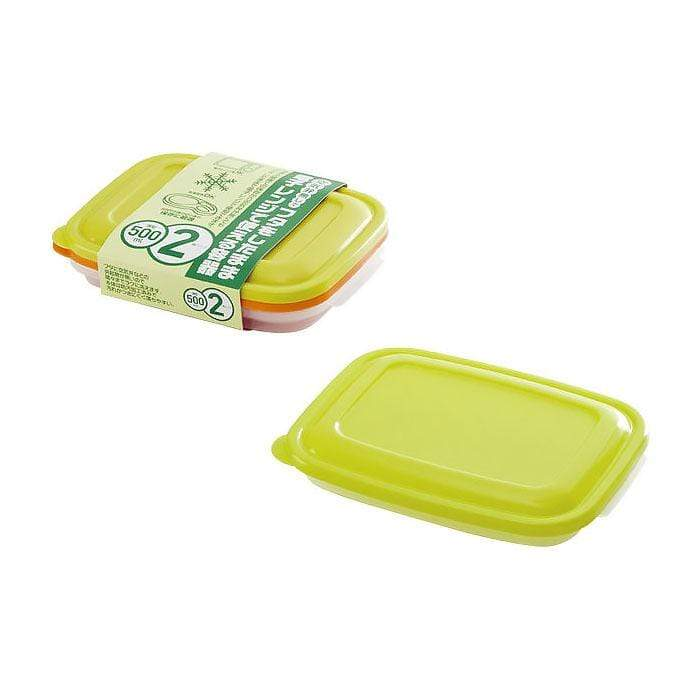 Takeya Colourful Light Pack Slim Container (2 Sizes, 3 Colours) Food Containers
