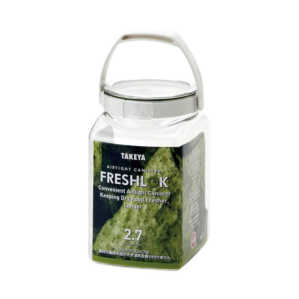 Takeya Freshlok Airtight Storage Square Container with Handle (2 Sizes) 2.7L Food Containers