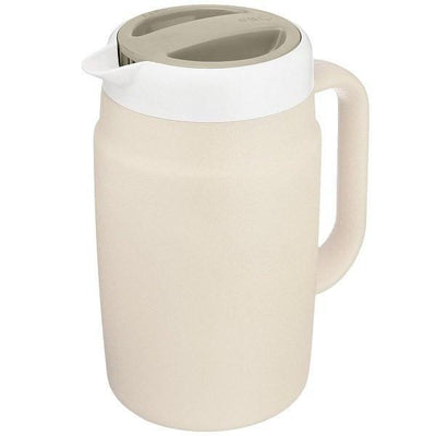 Tiger Double-Wall Insulated Water Pitcher 1.7L (4 Colours) Beige Jugs