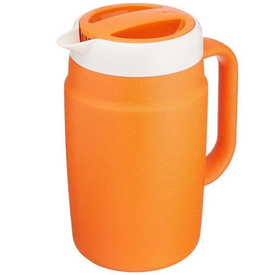 Tiger Double-Wall Insulated Water Pitcher 1.7L (4 Colours) Orange Jugs