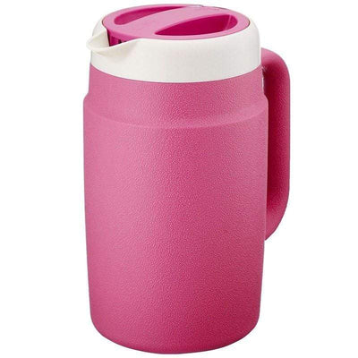 Tiger Double-Wall Insulated Water Pitcher 1.7L (4 Colours) Pink Jugs