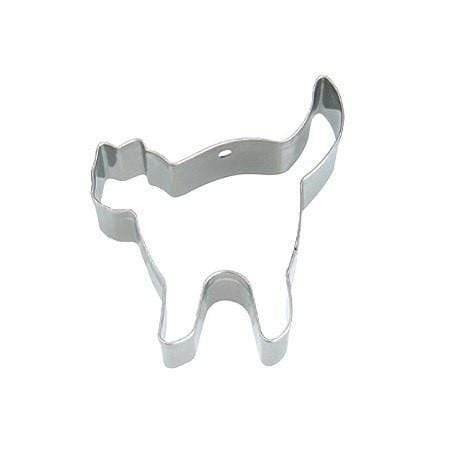 Tigercrown Stainless Steel Halloween Cat Cookie Cutter Cookie Cutters