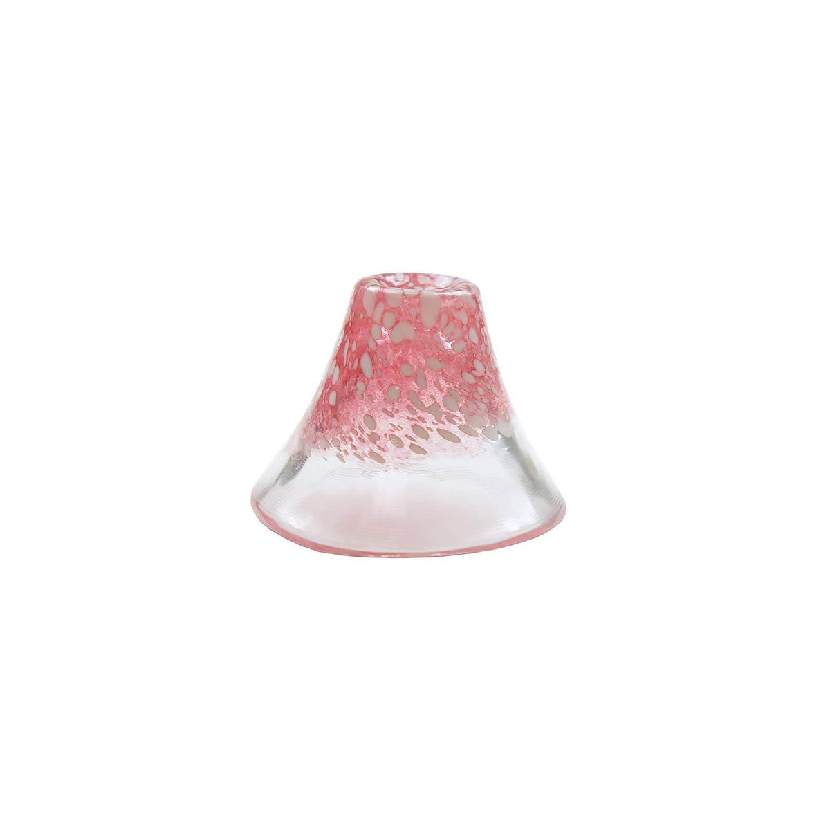 Toyo Sasaki Glass Mt.Fuji Glass Sake Cup (2 Colours) Red / Single Sake Cups