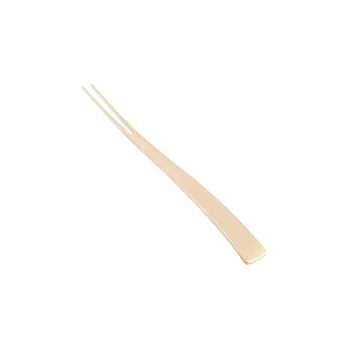 Tsubame Shinko URBAN Stainless Steel Pastry Fork 13.2cm (2 Colours) Pink Gold Loose Cutlery