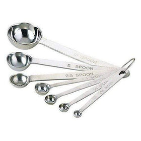 Wadasuke Extra Thick Stainless Steel 7-Piece Measuring Spoon Set Measuring Spoons