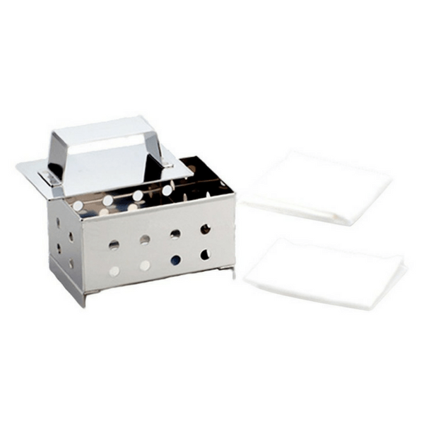Wakabayashi Stainless Steel Tofu Mould with Cotton Cheesecloth Tofu Molds