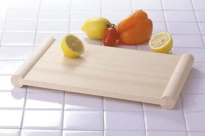 Yamacoh Hinoki Cypress Wooden Reversible Floating Cutting Board 48cm Cutting Boards