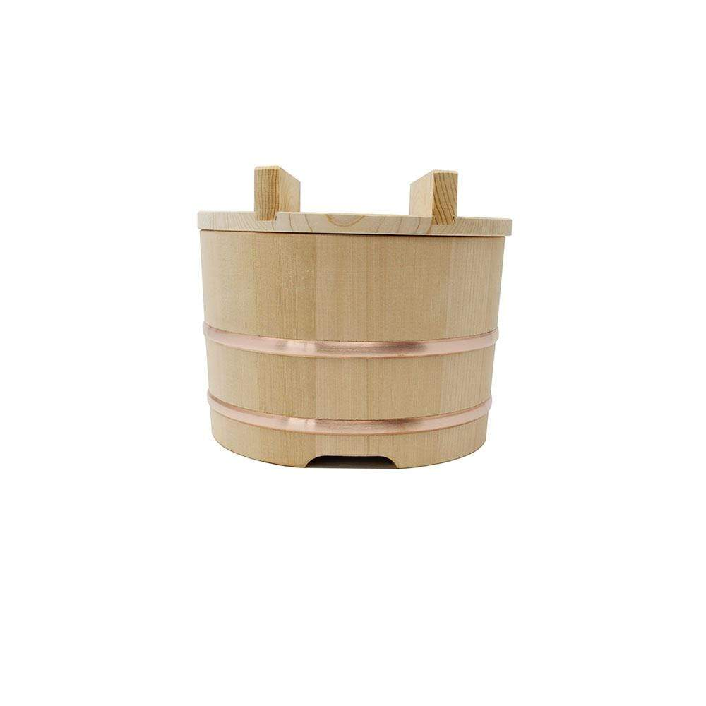 Yamacoh Ohitsu Sawara Wooden Rice Container (Nosebitsu) Food Containers