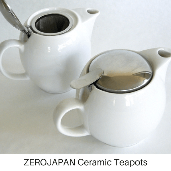ZEROJAPAN Mino Ware Universal Teapot with Infuser 450ml (14 Colours) Teapots