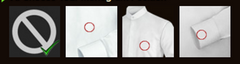 Monogram Position for Long Sleeved Dress Shirts