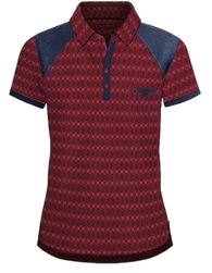 Polo - Burgundy-Blue