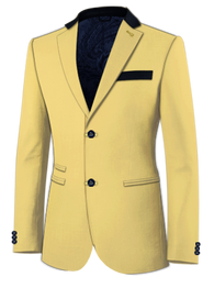 Yellow Chino Jacket