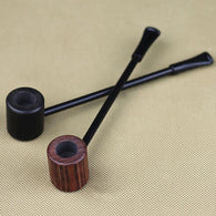 2016 New High Quality Grade Fashion Long Ebony Wood Smoking Pipes