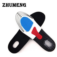 EVA Orthotic Shocker Support Sport Shoe Pad Running Gel Insoles Insert Cushion Men Women Scholls Insoles Palmilha Sneakers