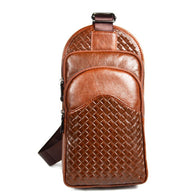Retro fashion Genuine Leather Crossbody Bags Men bag Brand cowhide Stitching design over Shoulder Bags Male casual messenger bag