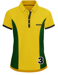 Polo - Yellow / Green