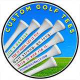Custom and Personalized Golf Tees
