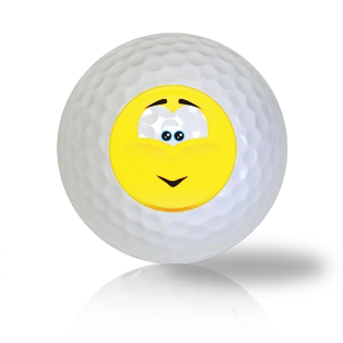 Admired Emoticon Golf Balls - Found Golf Balls