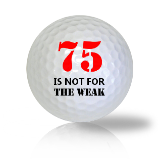 Age Of 75 Golf Balls - Found Golf Balls