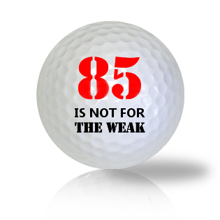 Age Of 85 Golf Balls - Found Golf Balls