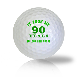 Age Of 90 Golf Balls - Found Golf Balls