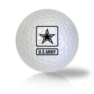 U.S. Army is strong Golf Balls Used Golf Balls - Foundgolfballs.com