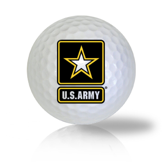 U.S. Army Strong Golf Balls Used Golf Balls - Foundgolfballs.com