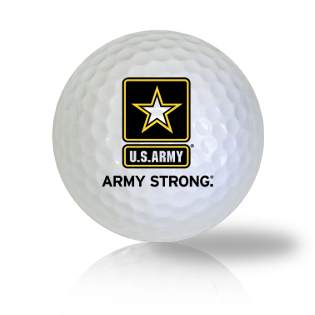 U.S. Army Strong Logo Golf Balls Used Golf Balls - Foundgolfballs.com