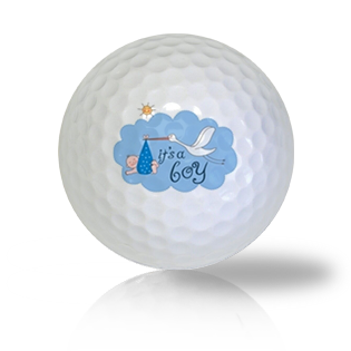 It's A Boy Golf Balls Used Golf Balls - Foundgolfballs.com
