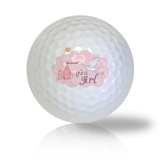 It's A Girl Golf Balls - Found Golf Balls