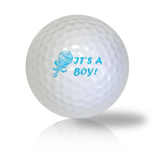 It's A Boy Golf Balls - Found Golf Balls